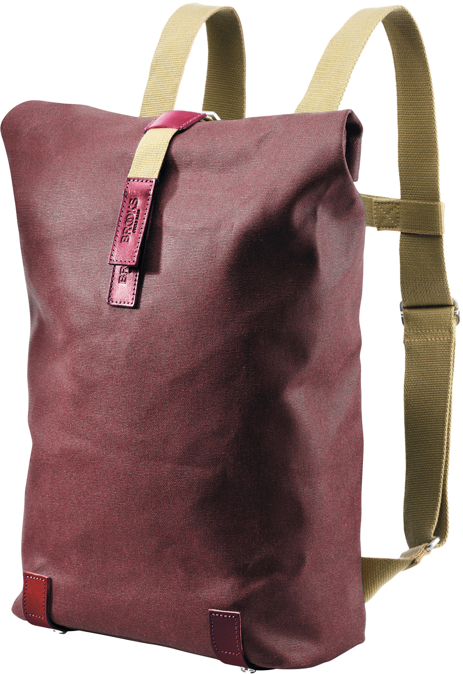 b399db4119 ▷ Brooks Pickwick Canvas Backpack Small 12l chianti/maroon online ...